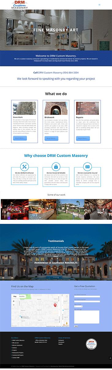 Drm Custom Masonry Project 2